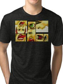 WHY?! EMPHASIZED  Tri-blend T-Shirt