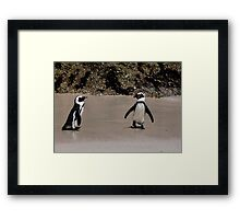 You coming ?? Framed Print
