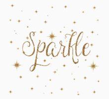 Gold Sparkles Kids Clothes