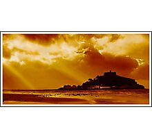 St Michaels Mount Photographic Print