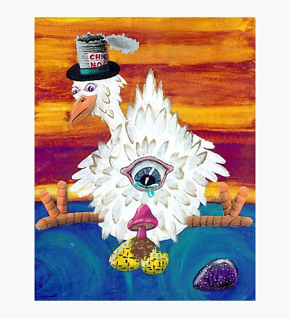 A trip gone fowl   Photographic Print
