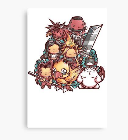 Cute Fantasy VII Canvas Print