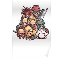 Cute Fantasy VII Poster