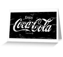 Old Paint - Coca Cola Greeting Card