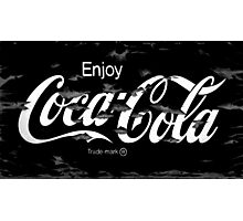Old Paint - Coca Cola Photographic Print
