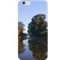 Winter stillness on water iPhone Case/Skin