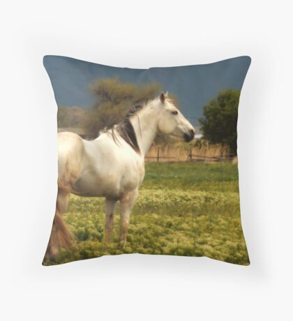 Equine Glow Throw Pillow