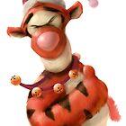 Santa Tigg by Jason Layman