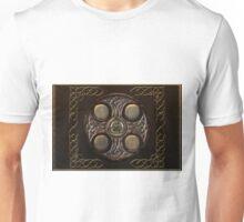 Celtic Cross Full Metal Unisex T-Shirt