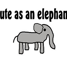 Save the Elephants by greatshirts