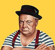 Hipstory- Winston Churchill by amitshimoni