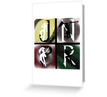 JNPR 4 Way Combo Characters Greeting Card