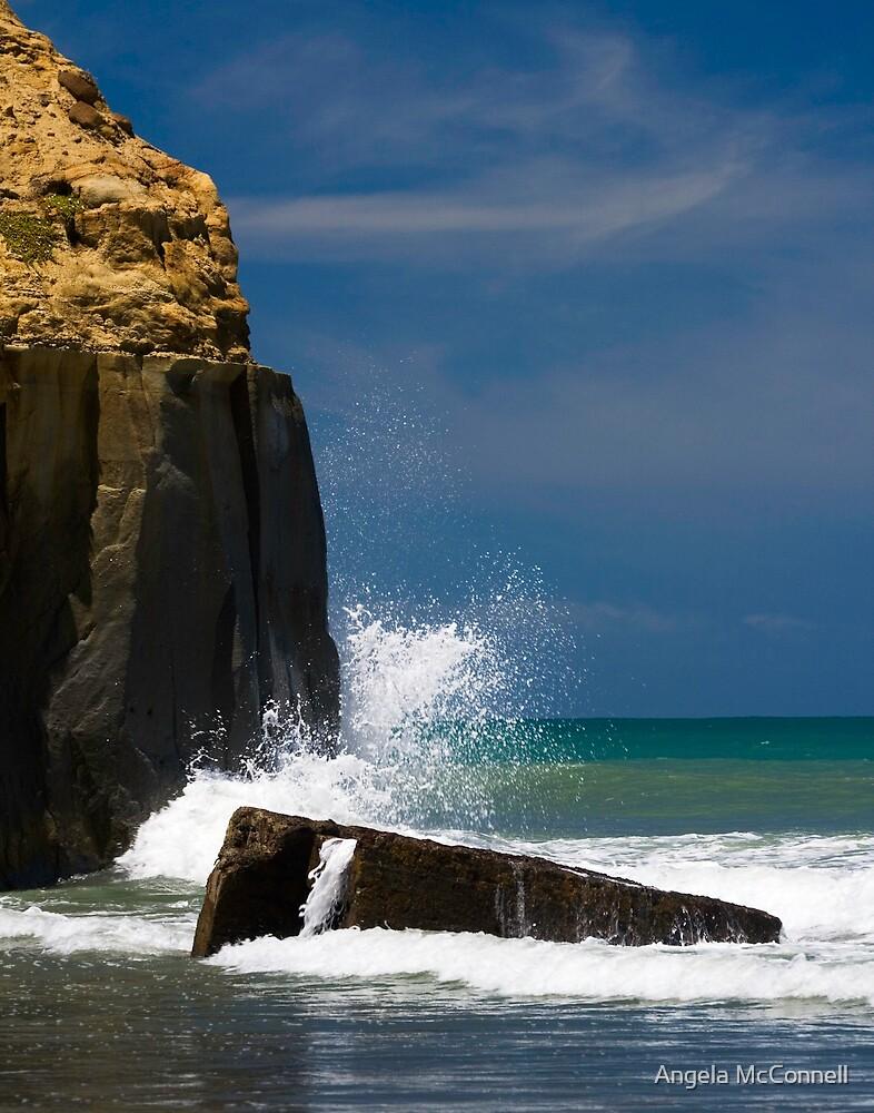 Kai Iwi Beach - Wanganui, NZ by Angela McConnell