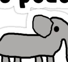 Save the Elephants Sticker