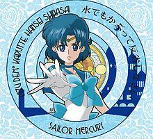 Sailor Mercury - Sailor Moon Crystal (rev. 1) by alphavirginis