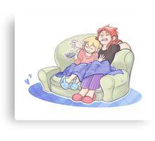 Couch Chosen Canvas Print