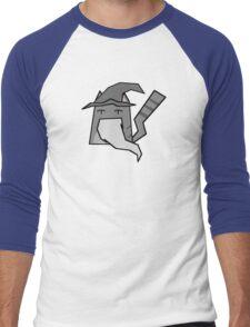 Gandalf Cat Men's Baseball ¾ T-Shirt