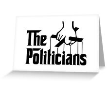 Puppet Politicians Greeting Card