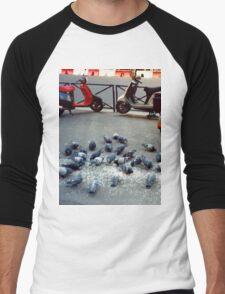 Parisian Pigeon Party, Spring 2000 Men's Baseball ¾ T-Shirt