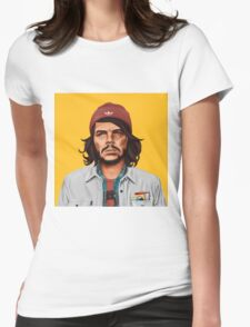 Hipstory- Che Guevara Womens Fitted T-Shirt
