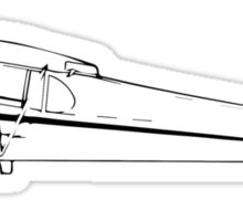Piper J-3 Cub Sticker