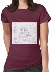 SMILE_APH Womens Fitted T-Shirt