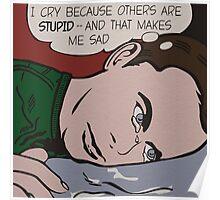 Sad Sheldon Poster