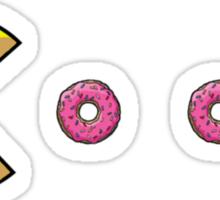Pac-Homer Sticker