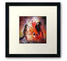 Flamencoscape 07 Framed Print