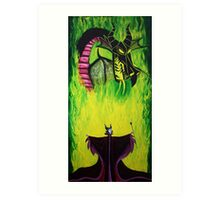 Maleficient's Anger Art Print