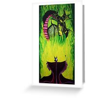 Maleficient's Anger Greeting Card