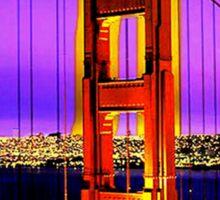 San Francisco Here I Come Sticker