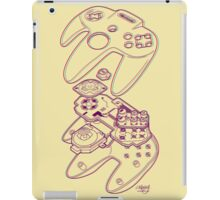 Blueprint 64 (3-D) iPad Case/Skin