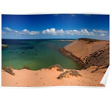 Eagle Bluff, Shark Bay Poster