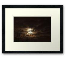 December Moons Framed Print