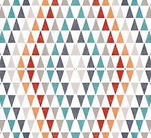 Triangles pattern by lalylaura