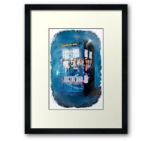 Blue Box Painting tee T-shirt / Hoodie Framed Print