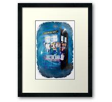Blue Box Painting tee T-shirt / Hoodie Framed Print