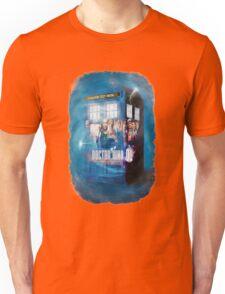 Blue Box Painting tee T-shirt / Hoodie Unisex T-Shirt