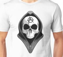 Anarchy Skull Wearing Hoodie Unisex T-Shirt