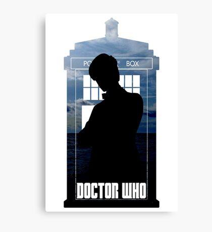 Dr. Who silhouette T-Shirt / Hoodie  Canvas Print