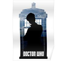 Dr. Who silhouette T-Shirt / Hoodie  Poster