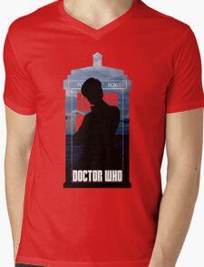 Dr. Who silhouette T-Shirt / Hoodie  Mens V-Neck T-Shirt