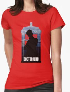 Dr. Who silhouette T-Shirt / Hoodie  Womens Fitted T-Shirt