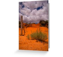 The Dunes of Monkey Mia Greeting Card