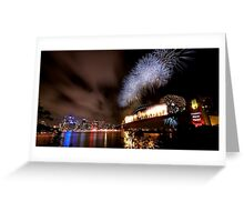 Sydney New Year's Eve Fireworks Greeting Card