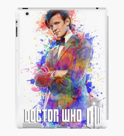 Dr. Who Tee Steampunk Character T-Shirt / Hoodie iPad Case/Skin