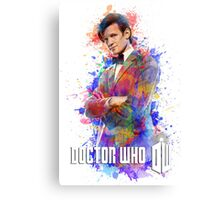 Dr. Who Tee Steampunk Character T-Shirt / Hoodie Canvas Print
