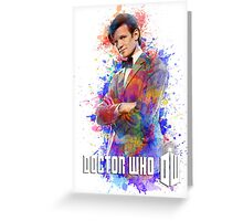 Dr. Who Tee Steampunk Character T-Shirt / Hoodie Greeting Card