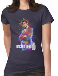 Dr. Who Tee Steampunk Character T-Shirt / Hoodie Womens Fitted T-Shirt